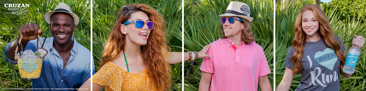 Bucket list No. 50: Show off your summer style ✔️ #CruzanBucketList