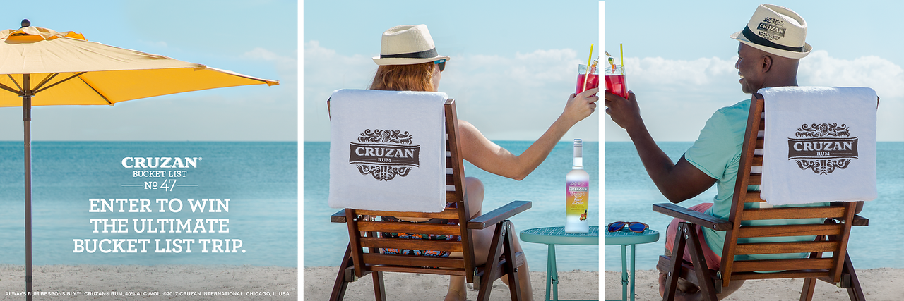 Bucket List No. 47: Win your dream vacation ✔️ Create your own bucket list for a chance to win the ultimate bucket list trip to St. Croix and other fun prizes. #CruzanBucketList.
