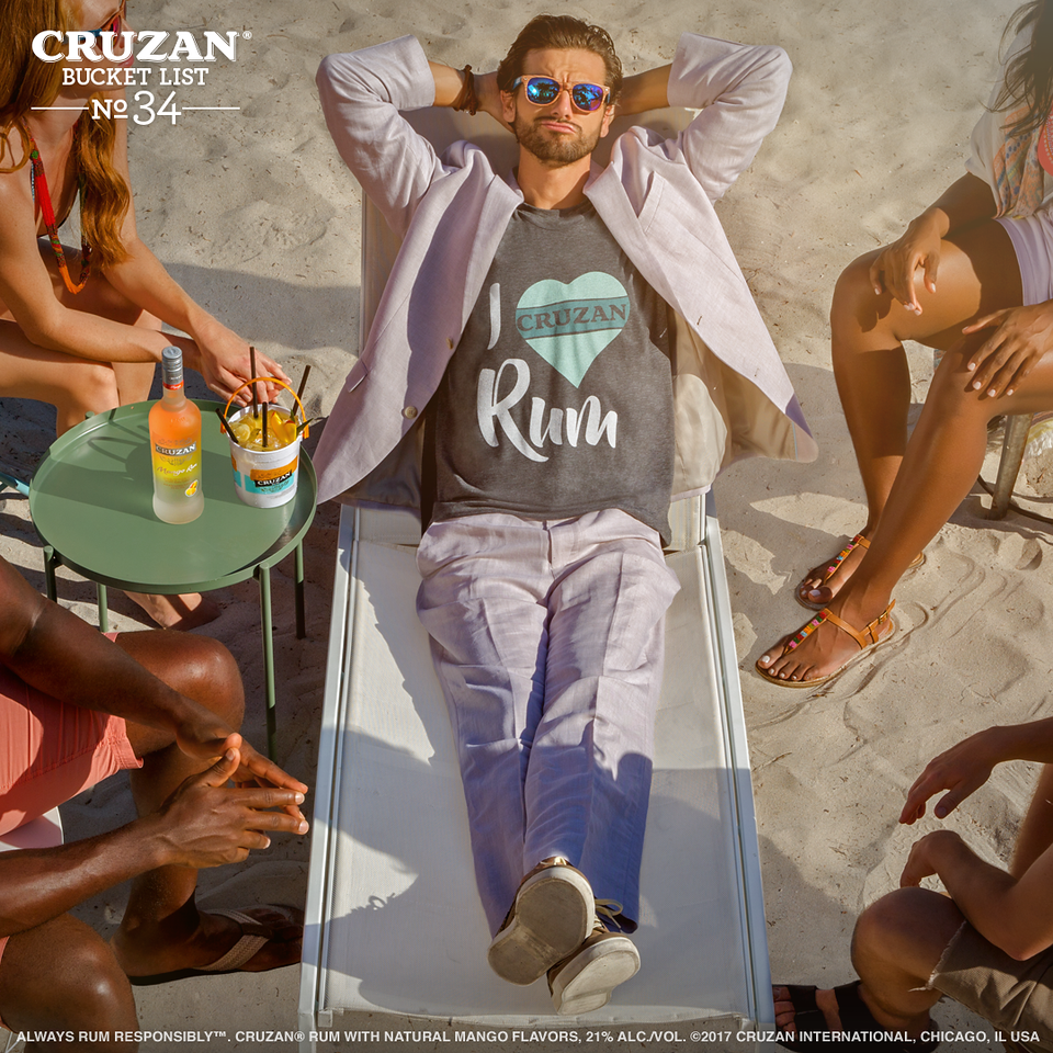 Bucket List No. 34: Have the confidence to rock your two-piece suit ✔️ #CruzanBucketList
