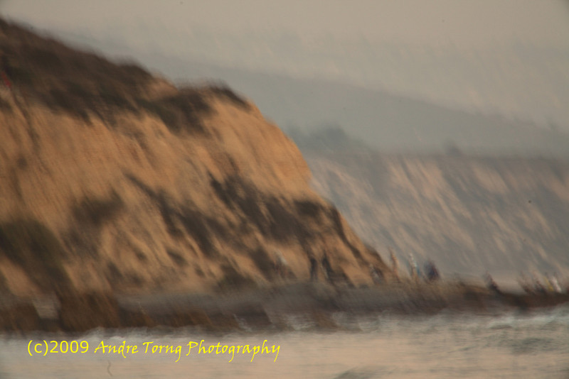 906-Andre-A pictorial Crystal Cove State Beach Cliff