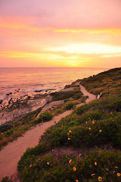203-Gavin- A beautiful trail leading to the sunset