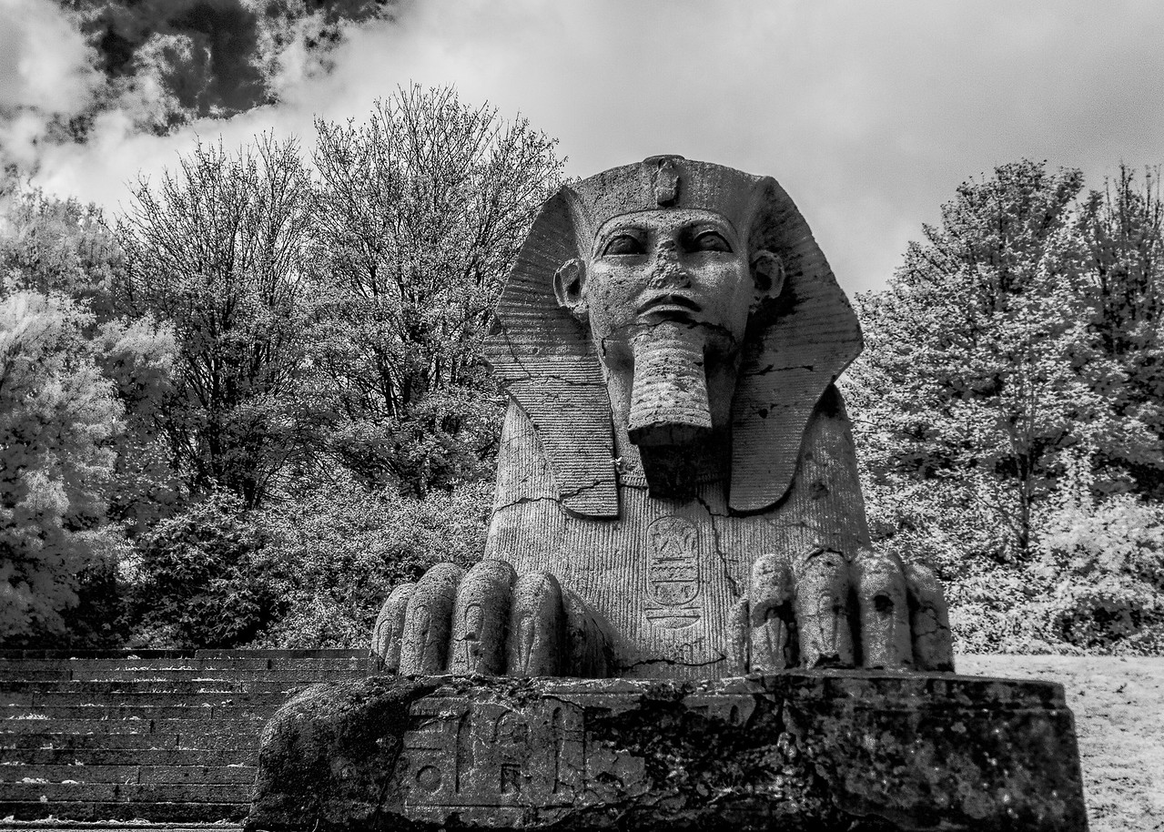Sphinx at Crystal Palace Park in South London