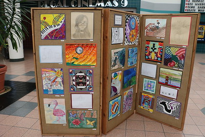 Crystal River Mall Art Display