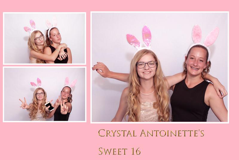 Crytal's Sweet 16