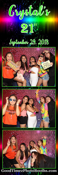 Crystal's 21 Birthday Party