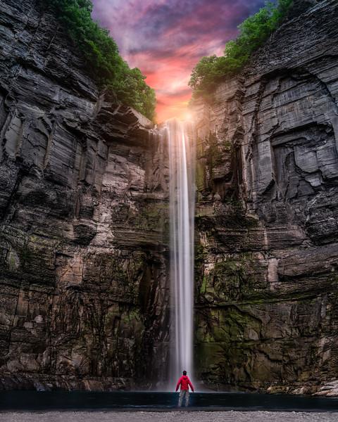 Taughanook Falls