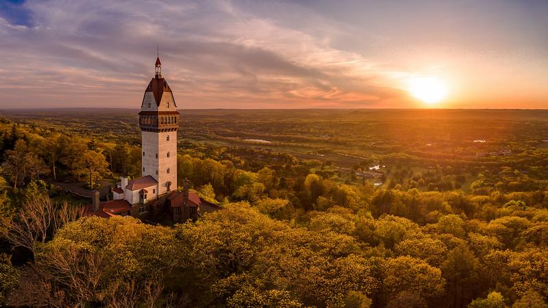 Heublein tower-
