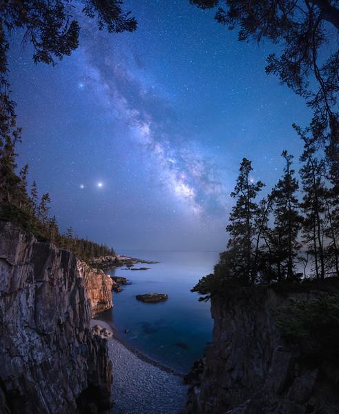 Milky Way over Ravens Nest