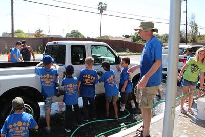 Pack 851 Car Wash 2015-04