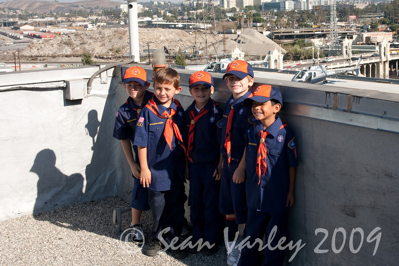 2009.11.22 Cub Scouts police visit 040