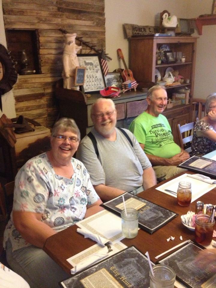 Ms. Janet, Bigdog & Dusty Burton