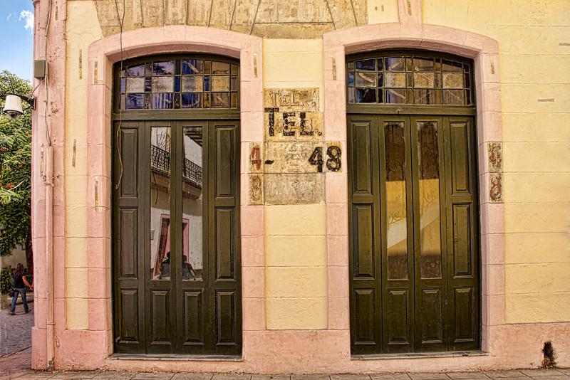 Cuba, Havana restoration, old buildings, texture,