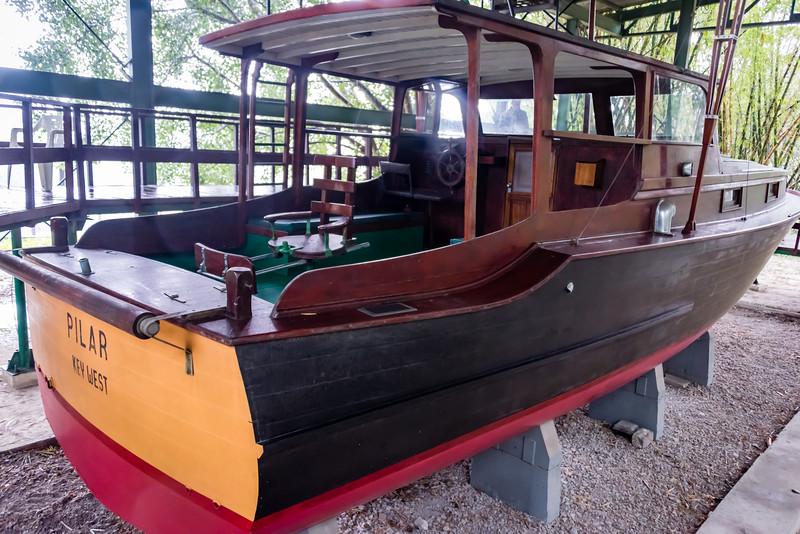 Pilar, Hemingway Fishing Boat