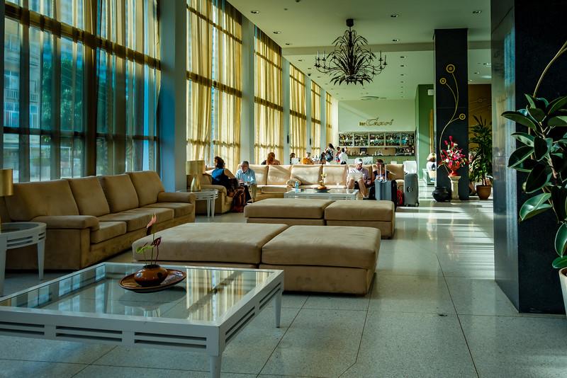 Interior of Hotel Capri, La Habana