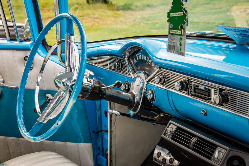 Chevy Bel Aire Interior