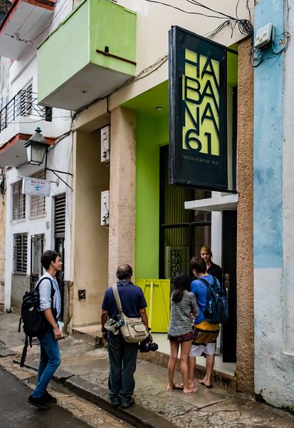 Habana 61 Restaurant for Lunch