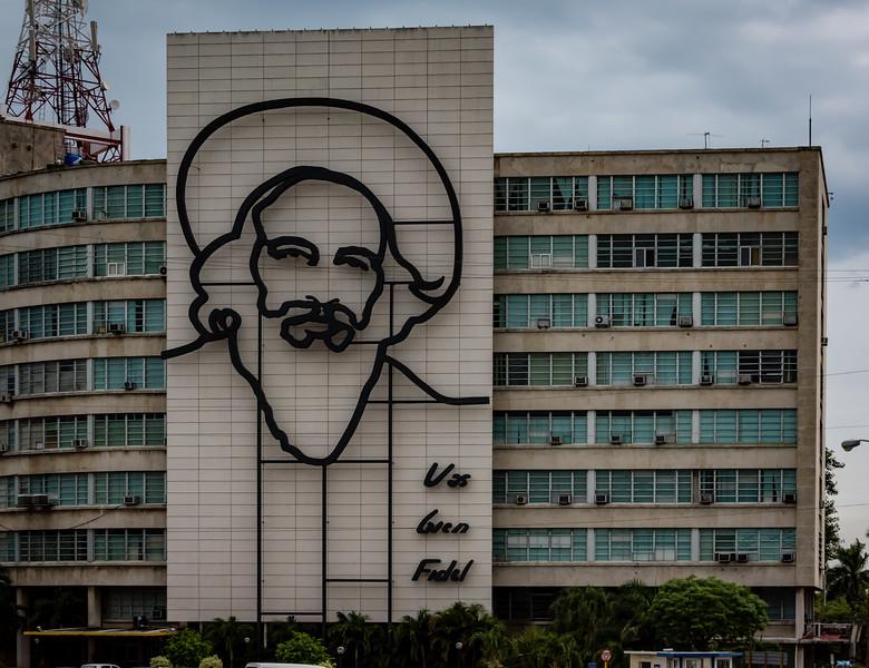 Camilo Cienfuegos (1932-1959) Monument at Revolution Square, Havana