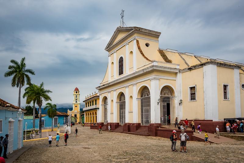 Church of the HolyTrinity at Plaza Mayor, Trinidad