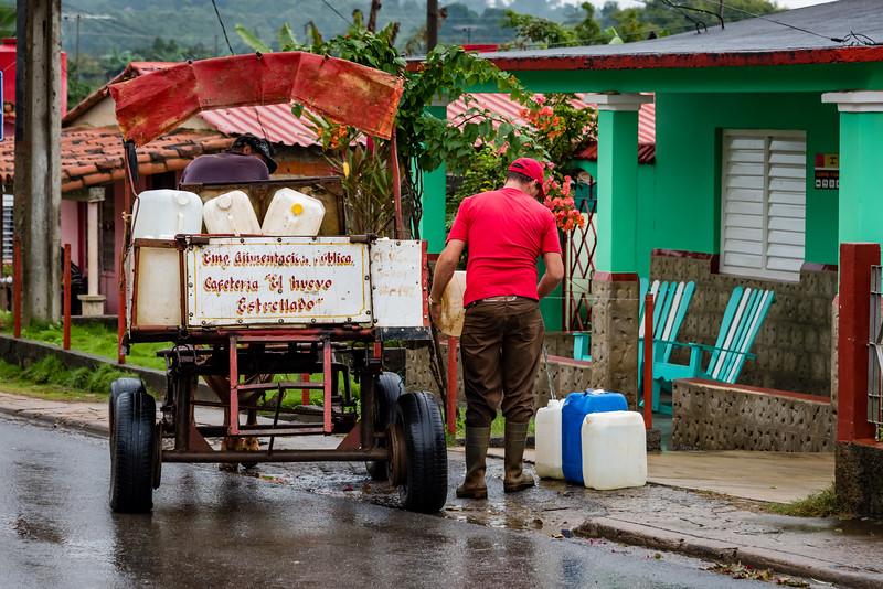 Water Delivery, Vinales Cuba
