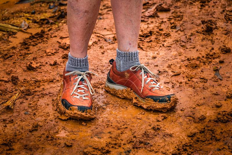 Shoe Mud Check