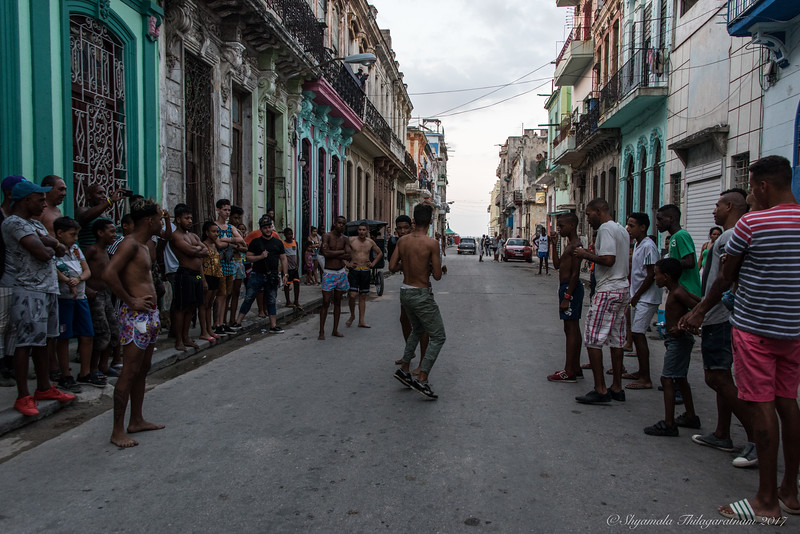 Cuba was about boxing