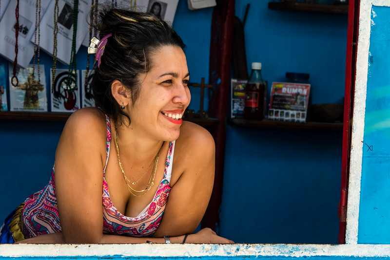 But most of all, Cuba was about its charming people