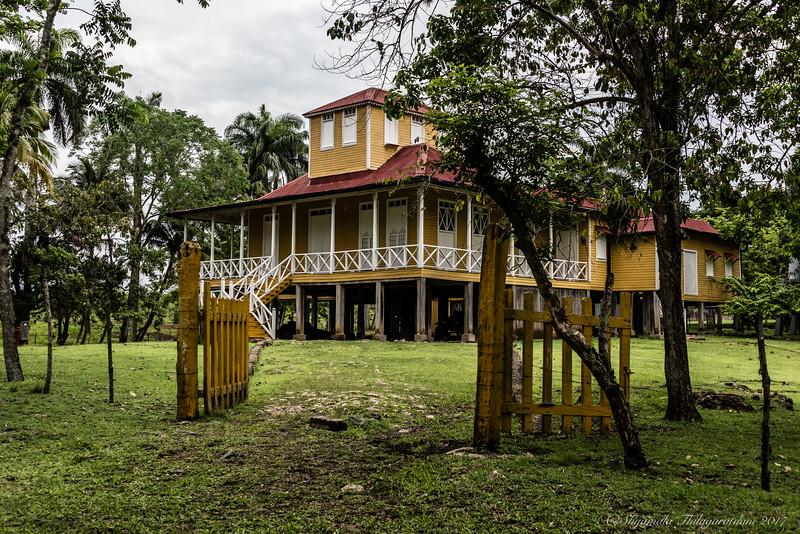 Casa Fidel - where he was born
