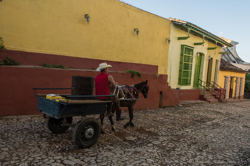Cuba was about other forms of transport too...
