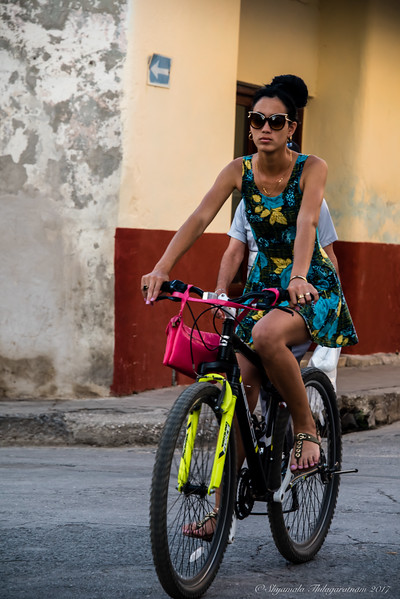 Cuba was about the cycles...