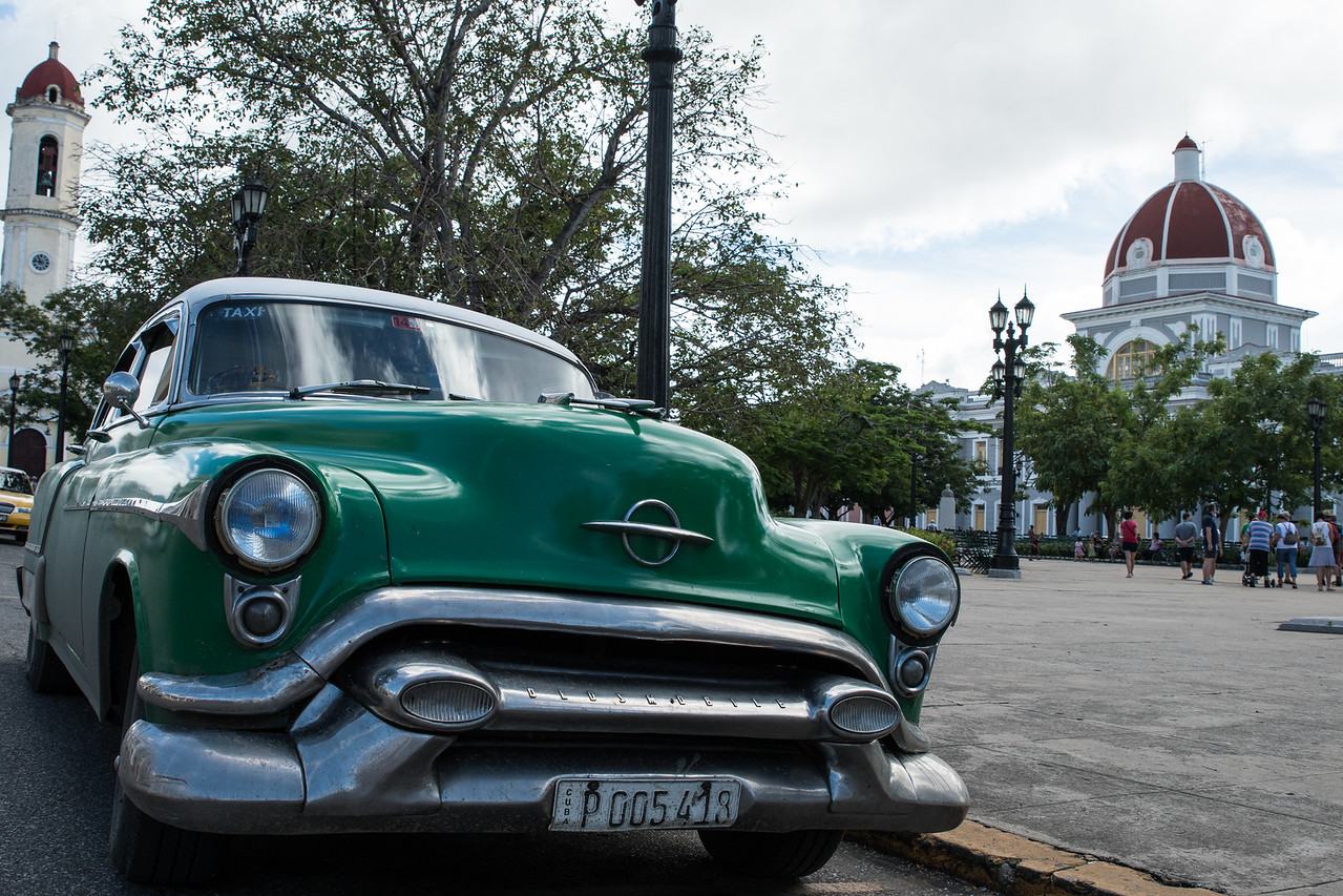 Cars from the 1950's still run all over Cuba.