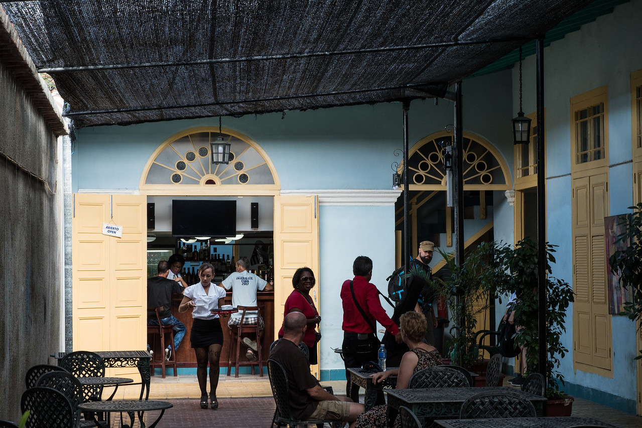 Cafe in Cienfuegos.