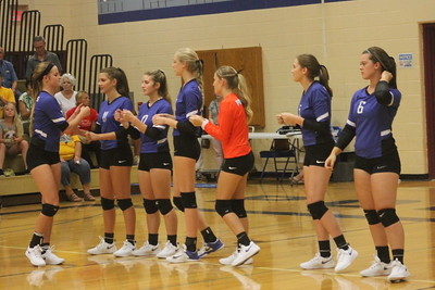 Cuba City @ Mineral Point Volleyball 9-4-18