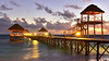 Lights on the Dock of Cayo Coco