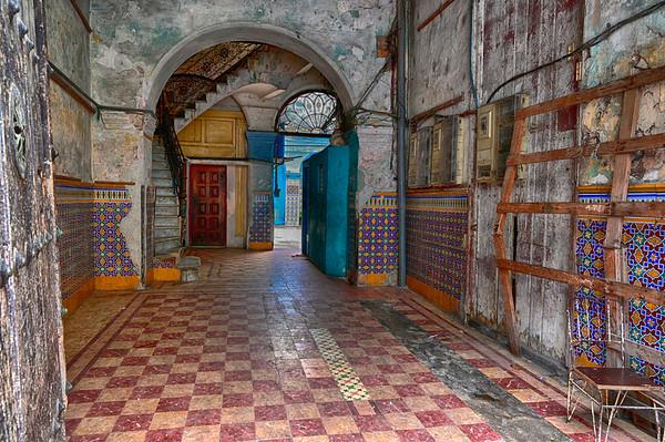 Hallway entering property