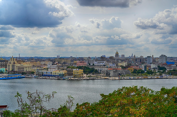 City of Havana from across the harbour
