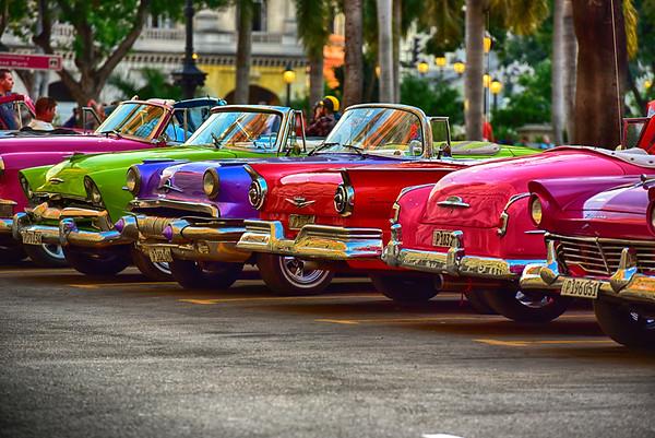 Jellybean Row of Cars