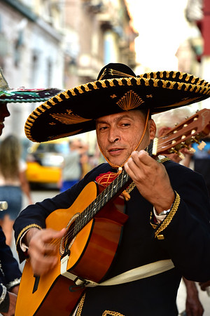 Guitar Player in Streets