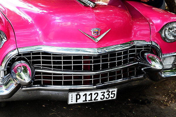 Front Bumber of 55 Cadillac