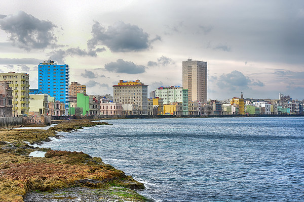 The Malecon from the water