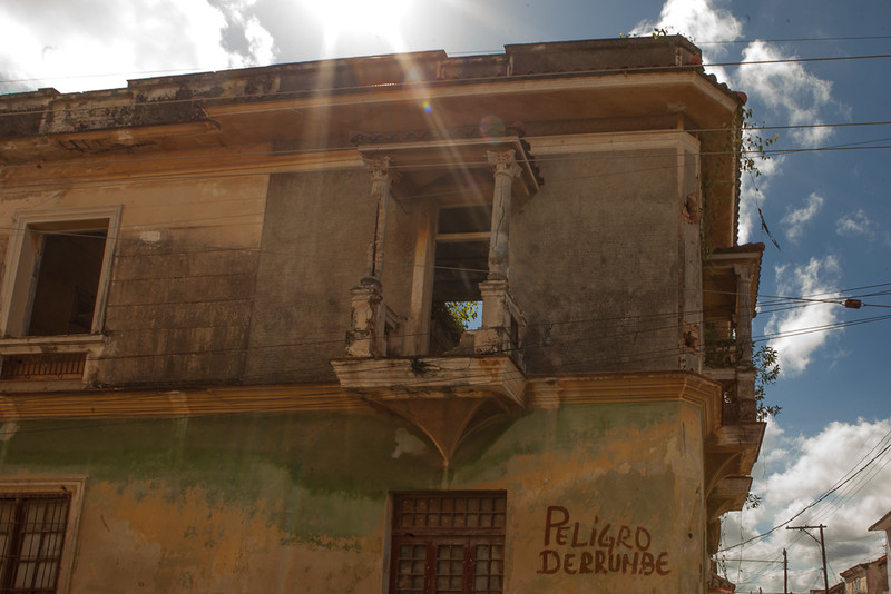 """Small village outside of Havana. Did not know when I was there that those words mean """"collapse danger."""""""