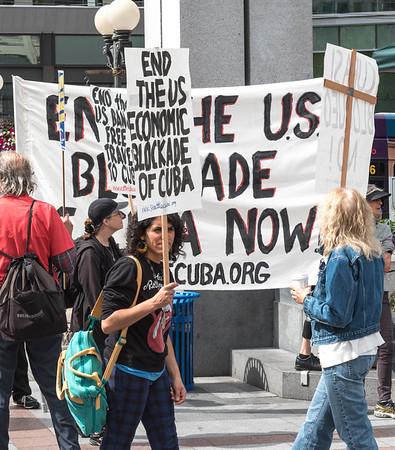 Cuba Rally Seattle 7-05-2016