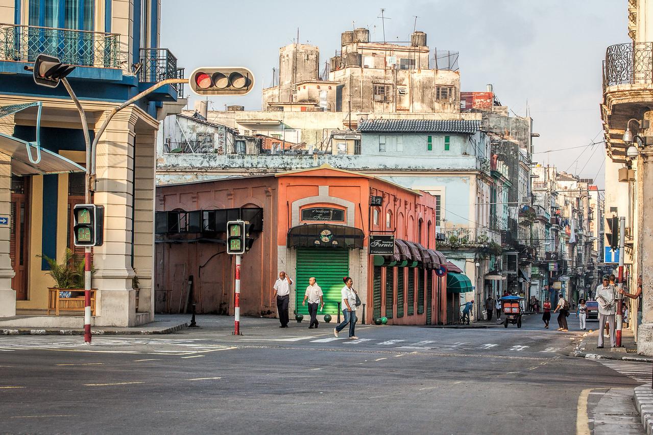 Street in Old Havana in Cuba