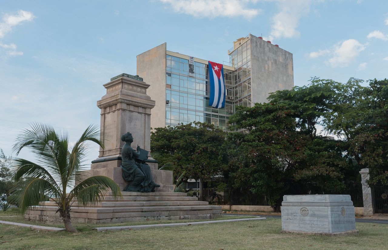 We were in Cuba during the 10 day period of mourning following the death of Fidel.  Cuban flags and posters with slogans and pictures of Fidel were prominently displayed on private homes and public buildings where ever we travelled in Cuba.  Flags were at half mast.