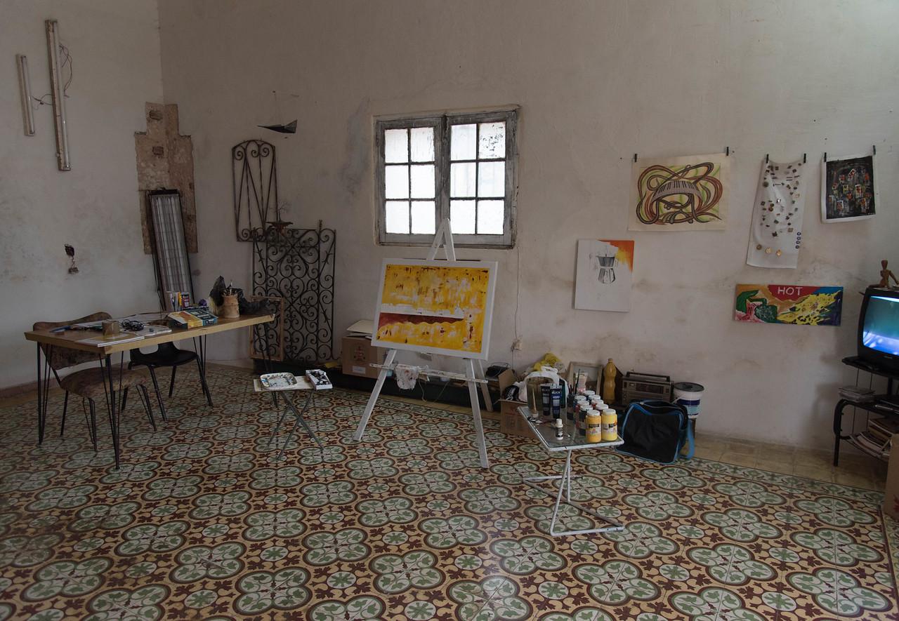 Artist studion in Cojimar