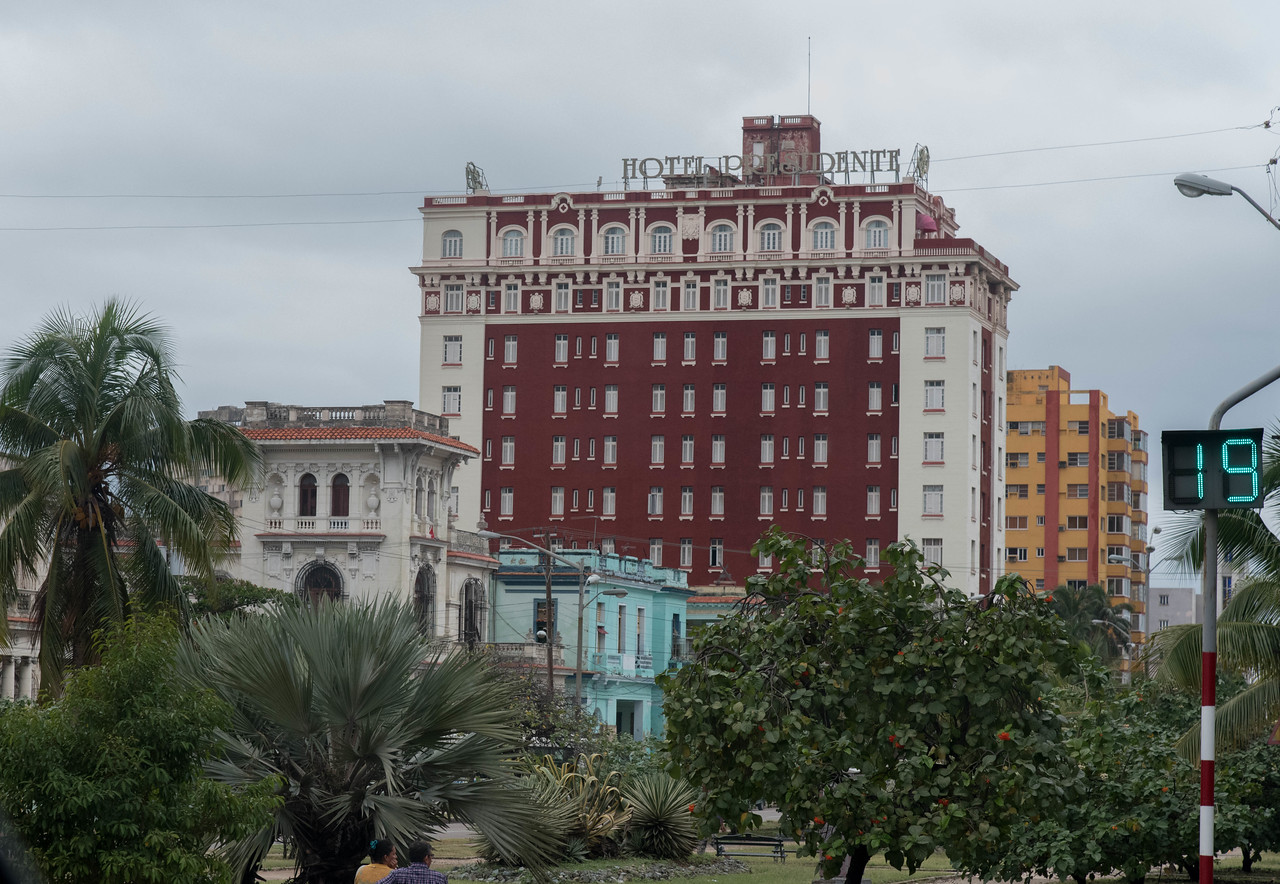 This was our hotel at the beginning and at the end of our stay in Cuba.