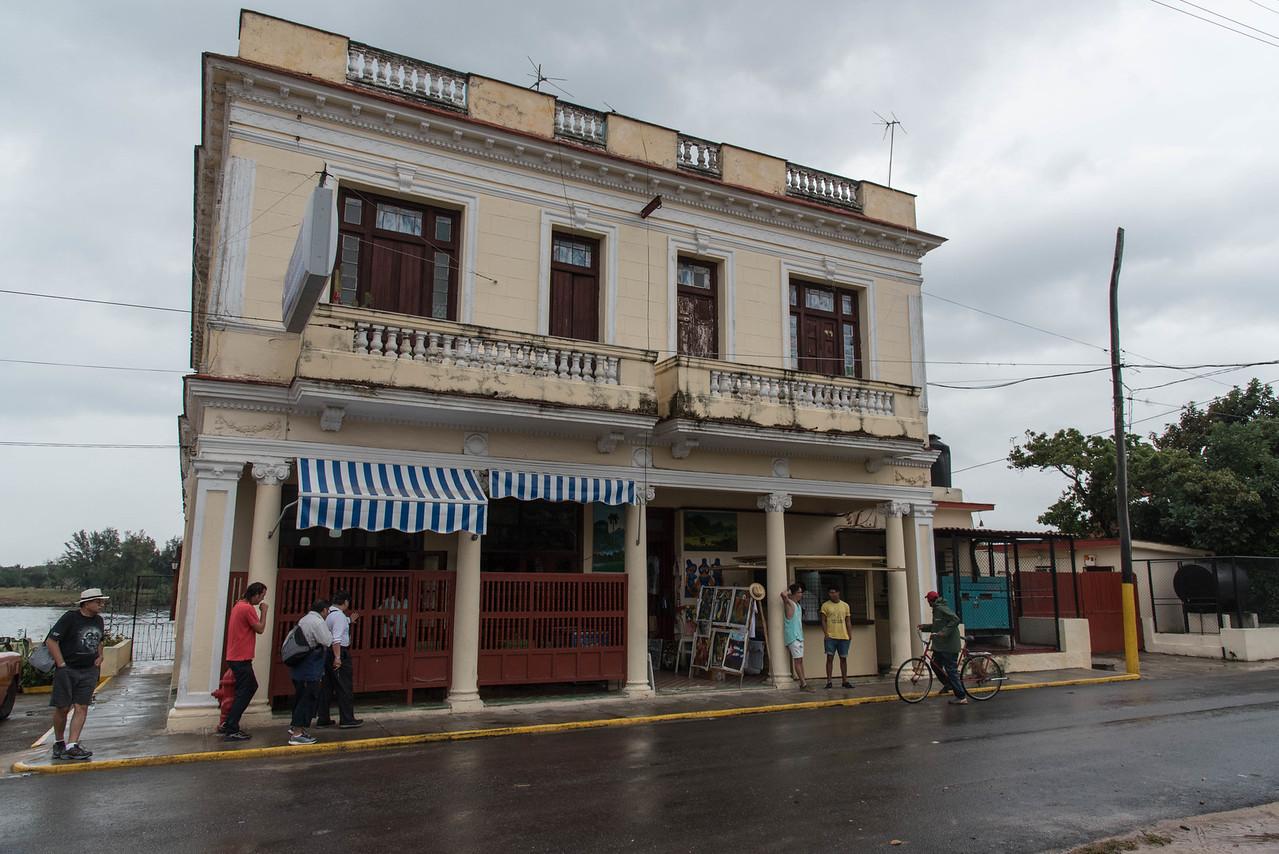 Restaurant in Cojimar.