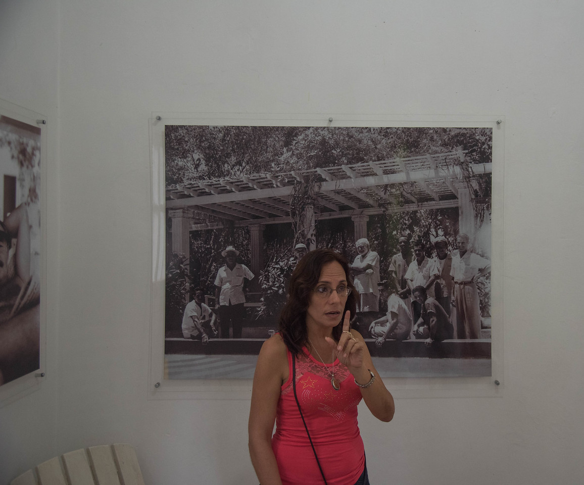 Historian/curator of Finca la Vigia