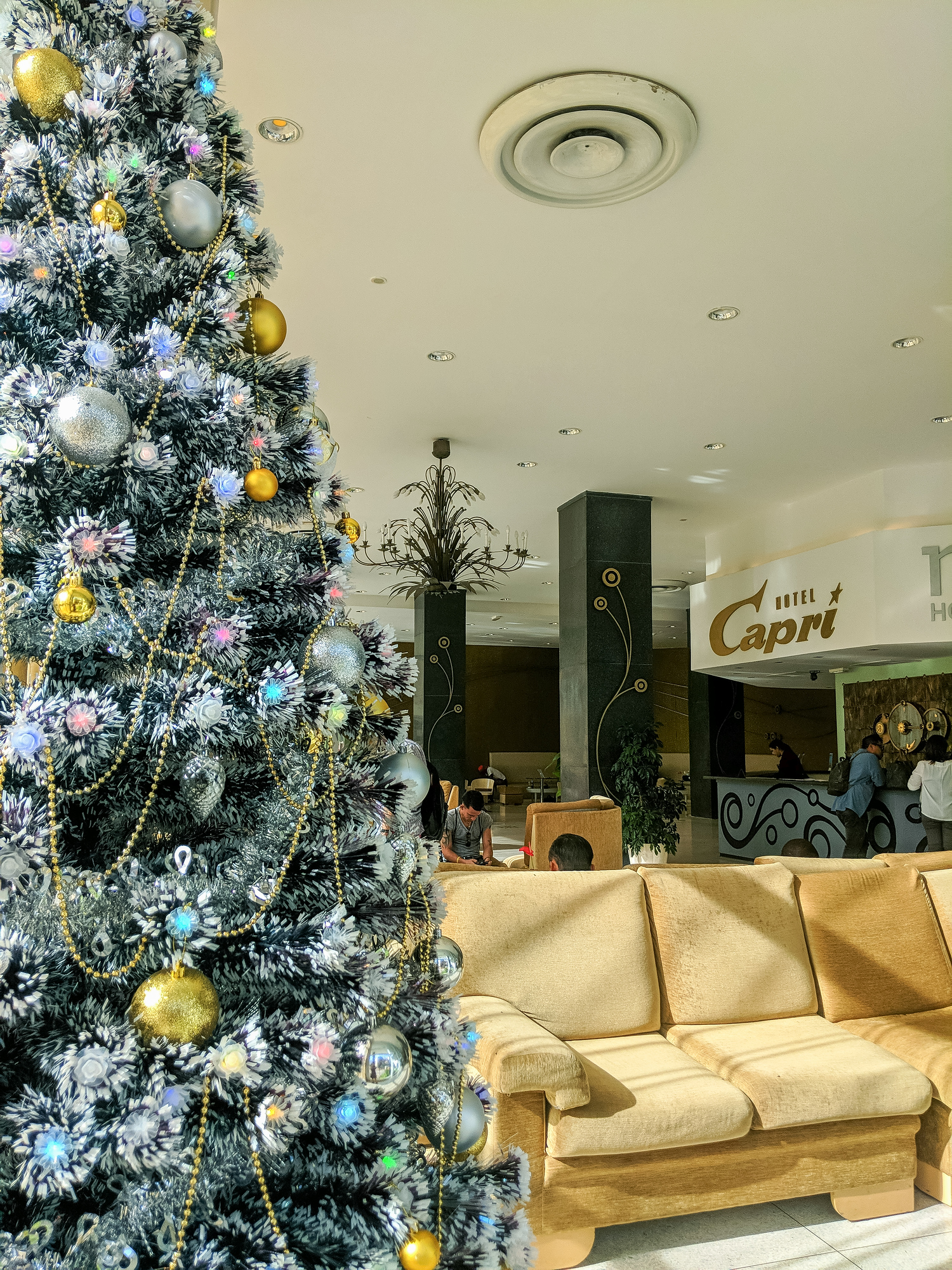 Christmas in Cuba at a hotel in Havana. A guide to how to spend Christmas in Cuba, where to go and what to see.