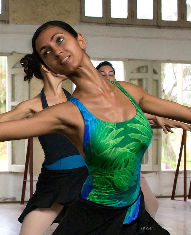 The ballet company, Cuba.