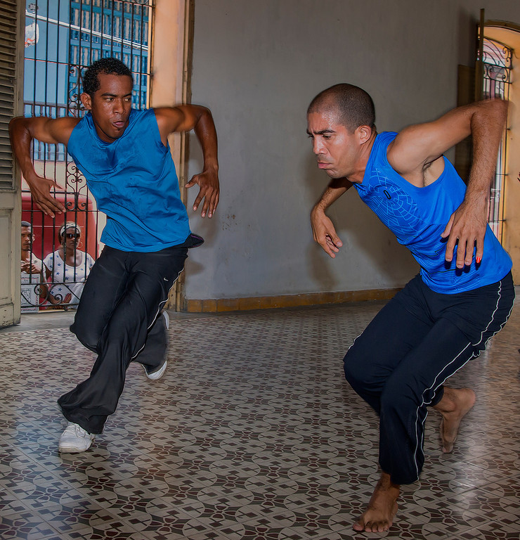 Afro-Cuban Yoruba dancers in eastern Cuba.